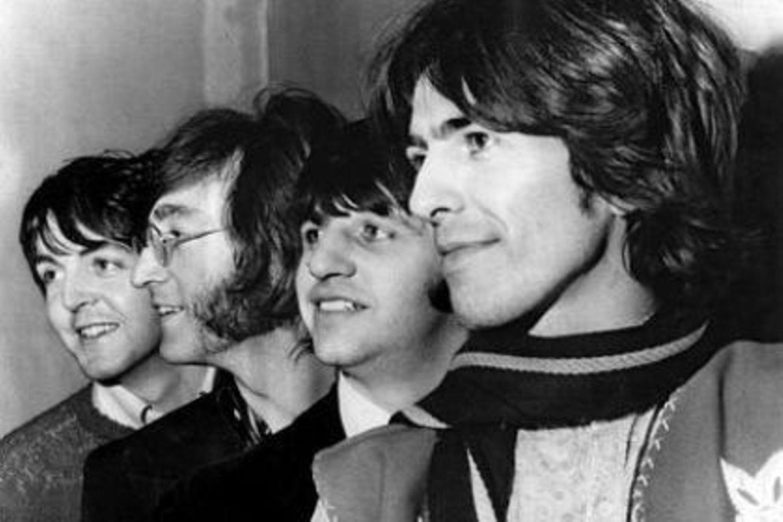 Die Beatles: Paul McCartney, John Lennon, Ringo Starr und George Harrison