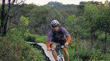 Über aufgeständerte Radwege trampeln Biker durch Naturschutzparks. Die Pflanzen sollen nicht durch Querfeldein-Fahrer zerstört werden.