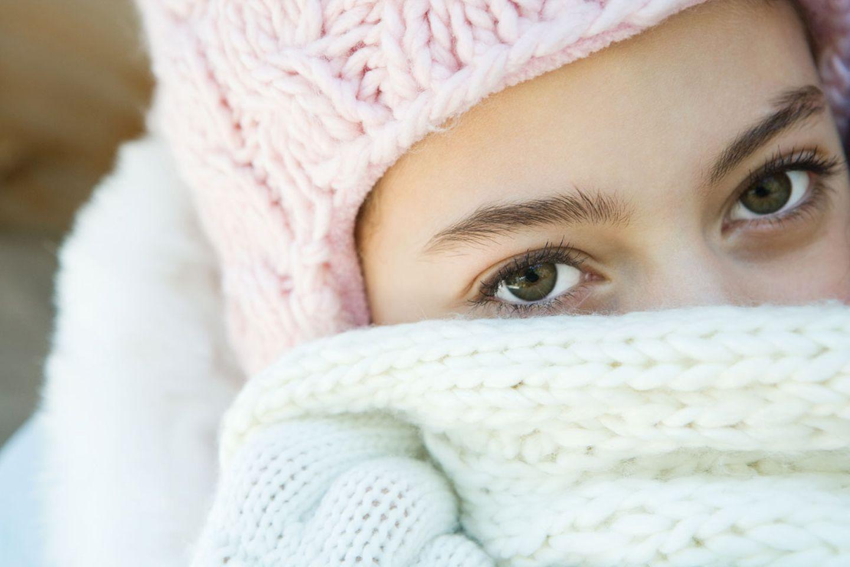 Manchmal kann schon kühle Luft Quaddeln und Schwellungen auslösen