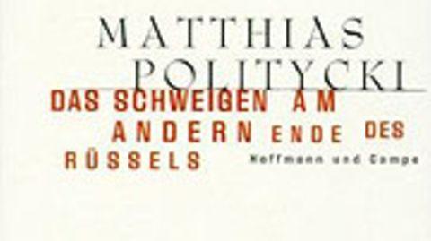 """Skurriles aus aller Welt bietet Matthias Politycki in seinem Erzählungsband """"Das Schweigen am andern Ende des Rüssels"""""""