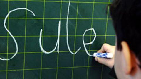 Den meisten Lehrern fällt es schwer zu unterscheiden, ob ein Schüler unter Legasthenie leidet oder nicht