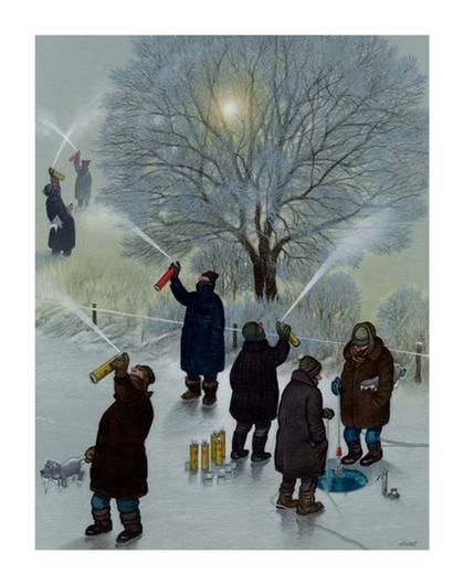 Januar 09: Sehnsucht nach der Erderwärmung