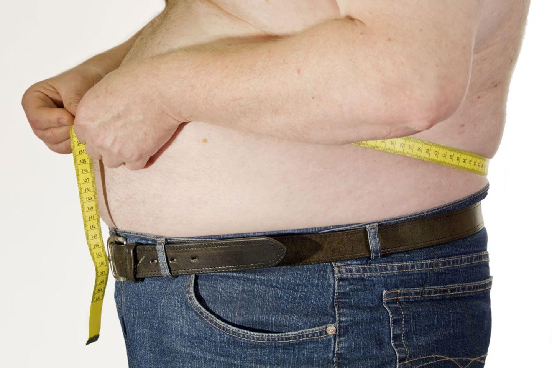 Gerade das Bauchfett gilt als ungesund
