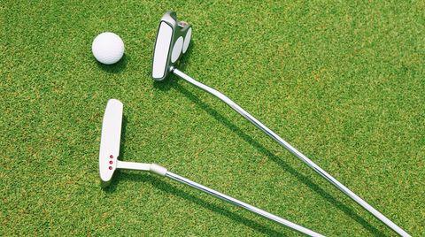 Herrscher über den Platz: der Golfer