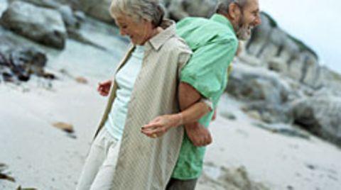 Die meisten 70-Jährigen sind heutzutage sehr zufrieden mit ihrer Beziehung