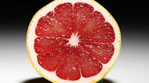 """Schmeckt erfrischend herb - aber """"Negativ-Kalorien"""" sind nicht in einer Grapefruit enthalten"""