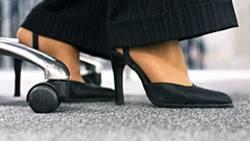 Stöckelschuhe haben auch gesundheitliche Vorteile: Sie stärken die Beckenboden-Muskulatur