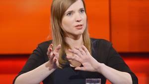 "Anne Wizorek bei ""Hart aber Fair"""