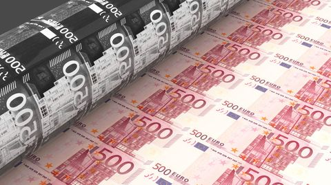 Die EZB wirft die Gelddruckmaschine an - das nützt nicht allen