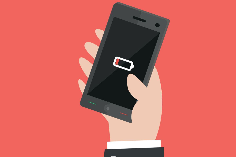 Leere Smartphone-Akkus - das muss bald nicht mehr sein.