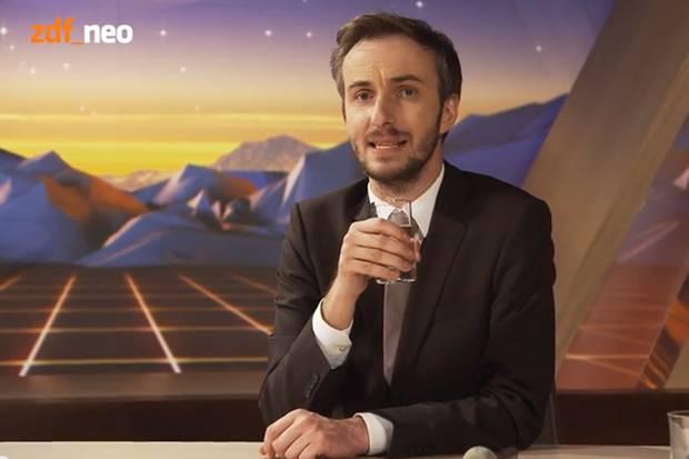 """Jan Böhmermann hat in der neuen Ausgabe seines """"Neo Magazin Royale"""" das fragwürdige Geschäftsmodell einiger Youtuber aufs Korn genommen."""