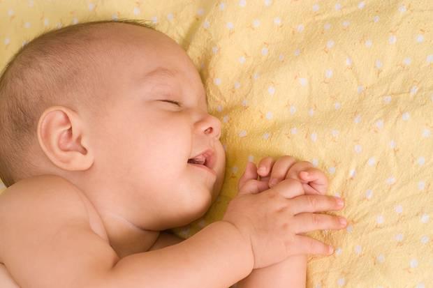 Noch schläft das Kind ...