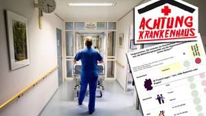 Achtung, in manchen Krankenhäusern ist Ihre Gesundheit in Gefahr!