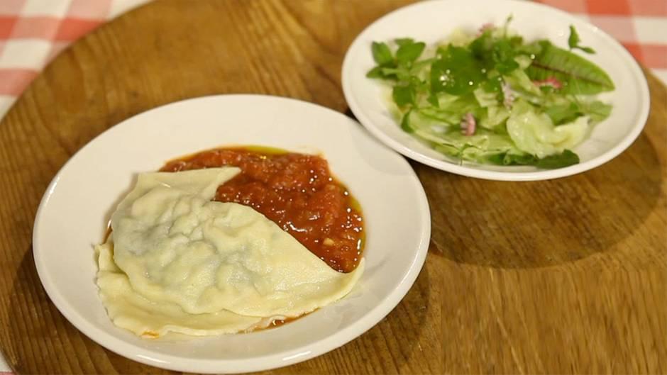 Rezept im Video: So gelingen vegetarische Maultaschen