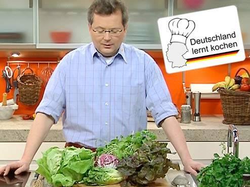 Deutschland lernt kochen: Verwöhnen Sie Ihre Salatblätter!