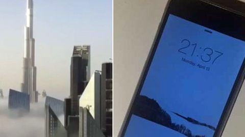 Missgeschick in 165 Meter Höhe: iPhone fällt aus 40. Stock - und filmt den Sturz