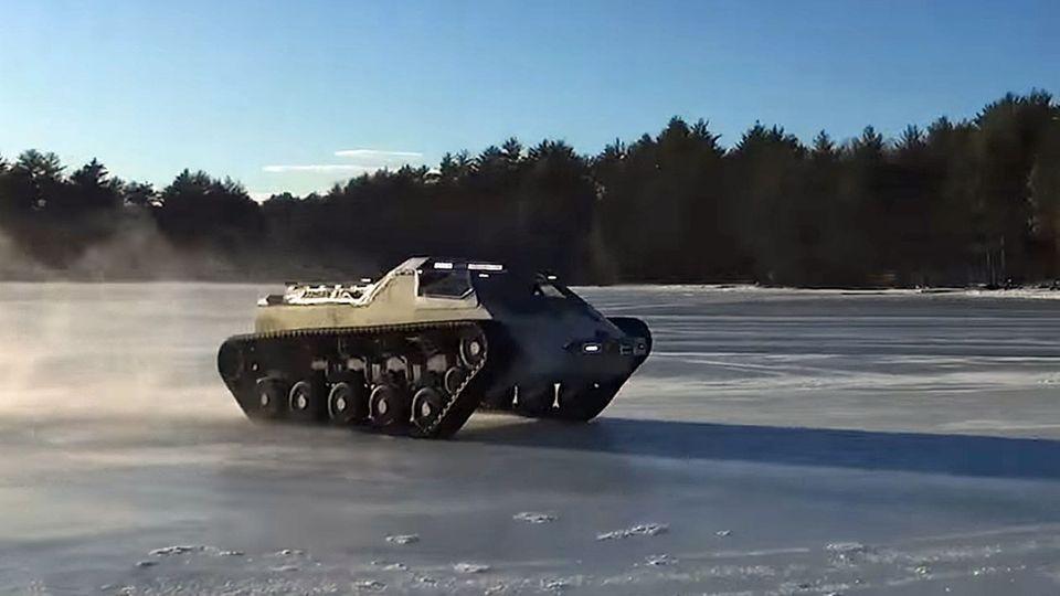 Panzer-Technik: Jetzt kommen die Roboter-Panzer