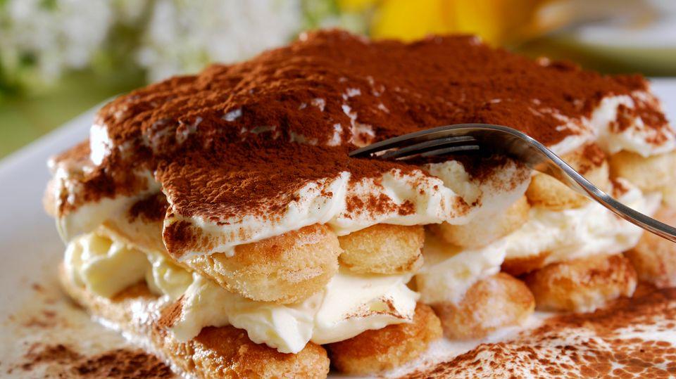 Tiramisù - das beste italienische Dessert der Welt