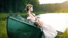 Symbolbild einer entspannten Braut.