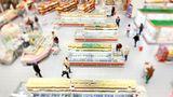 Supermärkte sind großräumig - aber warum eigentlich? Platz kostet schließlich Geld. Doch ist der Supermarkt vollgestopft, klein und eng, kaufen Kunden nicht so gerne dort ein. Großzügige Gänge haben noch einen weiteren Vorteil: Der Kunde bleibt für die Strecken, die er zurücklegen muss, viel länger im Laden - und hat so auch mehr Zeit zum Einkaufen.