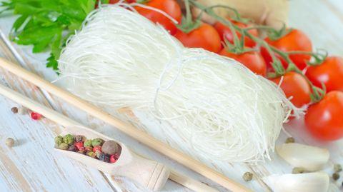 Vor allem in der asiatischen Küche kommen Glasnudel zum Einsatz