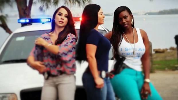 Die Frauen der Polizei von Miami müssen sich nicht verstecken.