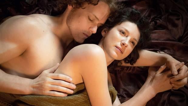 Claire und ihr Clansmann Jamie.