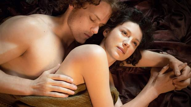 Caitriona balfe and lotte verbeek nude outlander s01e10 Part 5 8