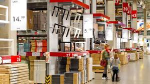 Möbelkauf in Deutschland: Vor allem günstig müssen Tische, Stühle und Schränke sein.