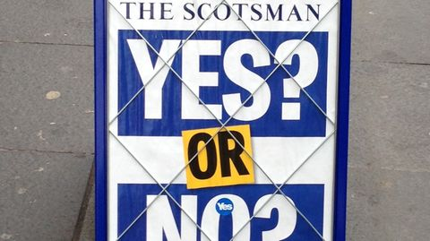 Ja oder Nein – Schottland stimmt ab