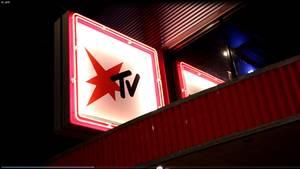 Eingang zum stern TV-Studio