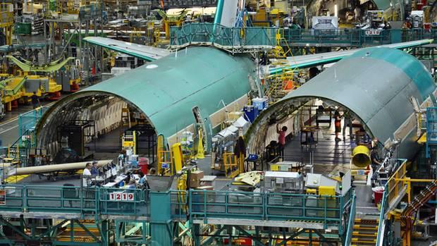 Boeing backt Flugzeuge wie Brötchen