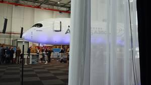 So sieht der neue Airbus A350 von innen aus