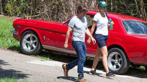 Tom Cruise und seine Assistentin Emily - Liebe oder Freundschaft?
