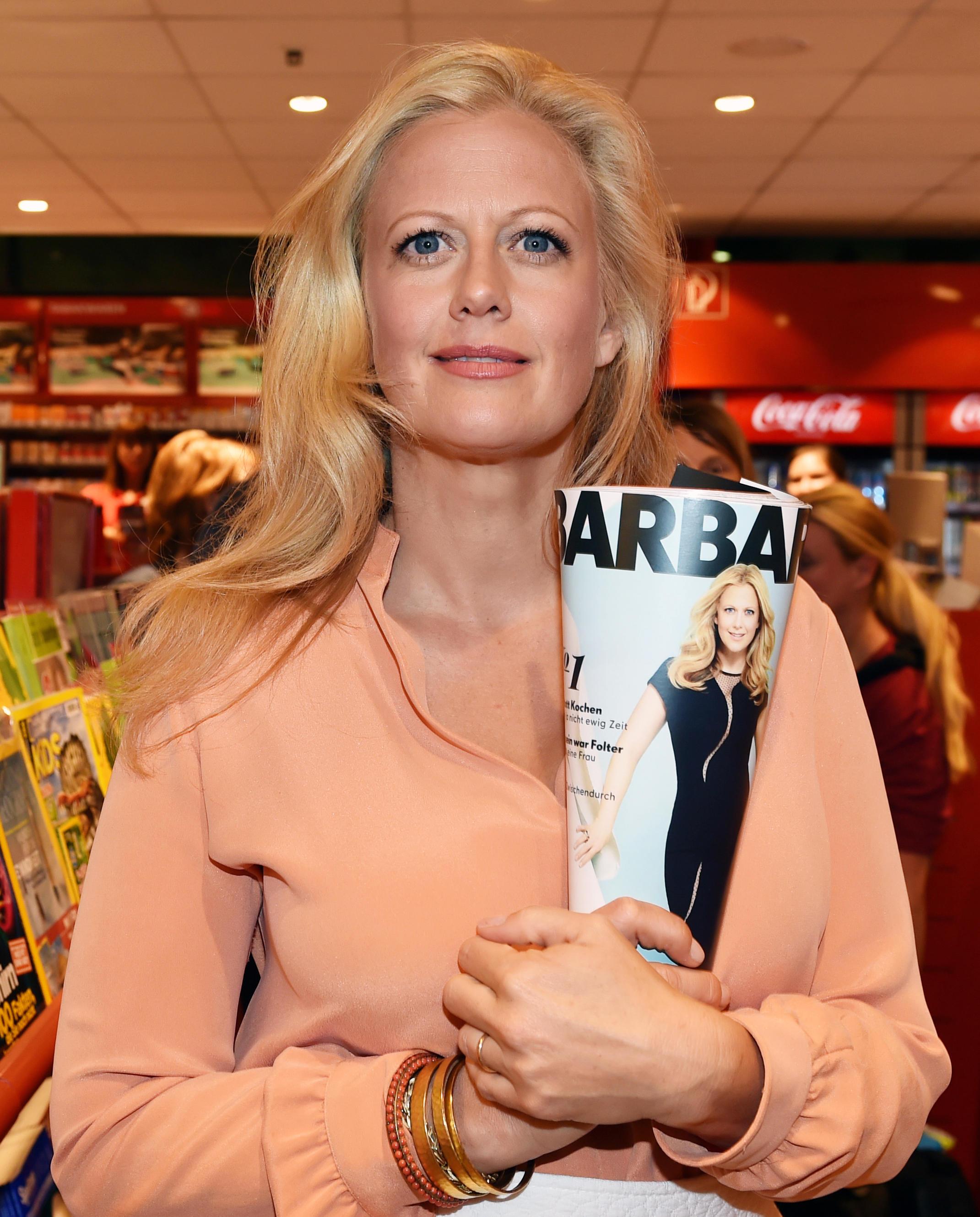 Gruner Und Jahr Zeitschriften barbara schöneberger stellt ihre zeitschrift in berlin vor de