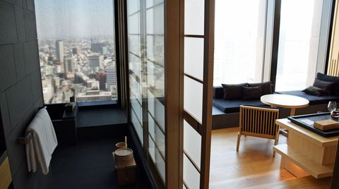 Zimmer im Aman Tokio