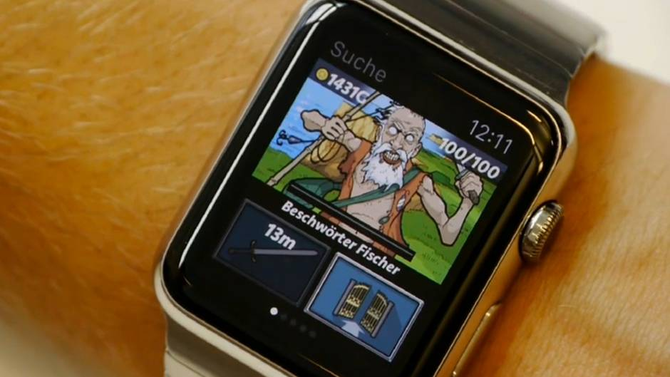 Trotz kleines Bildschirms: Games funktionieren prima auf der Apple Watch - dank kluger Konzepte.