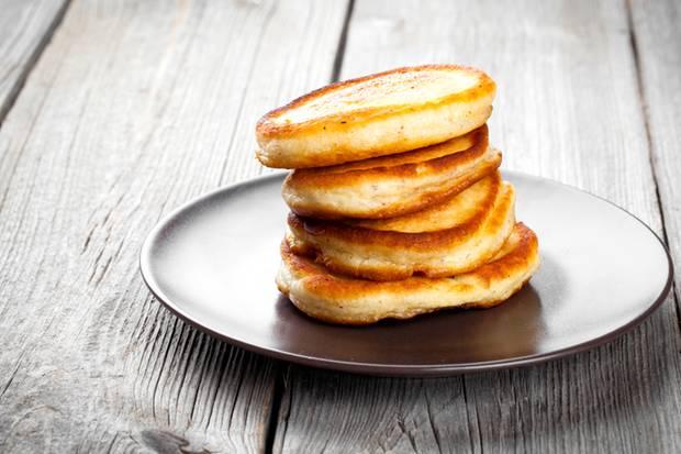 Pfannkuchen Mit Nur Drei Zutaten Backen Sie Gesunde Pfannkuchen