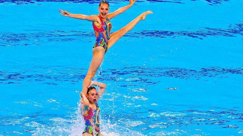 Synchronschwimmen ist Teil der Europaspiele in Baku