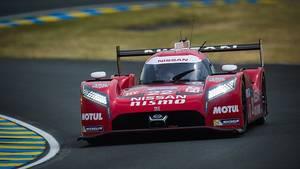 Der Nissans GT-R LM Nismo ist ein markantes Auto