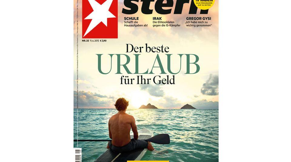 stern Cover Nr. 25 - Der beste Urlaub für Ihr Geld