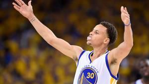 Stephen Curry führte die Golden State Warriors zum Sieg.