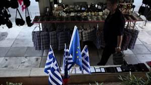 EU-Griechenlandflagge