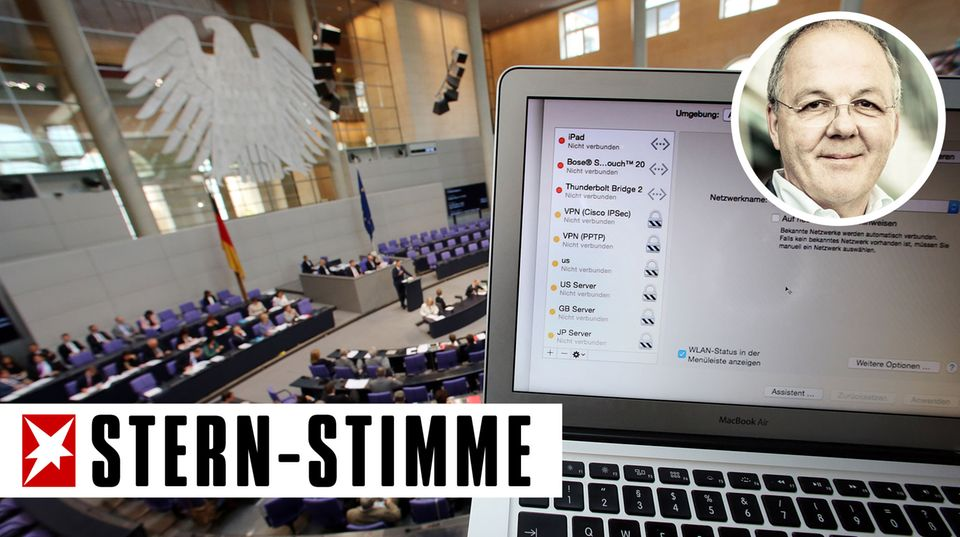 "Thomas Ammann: ""Bits & Pieces"": #Neuland Bundestag - total verseucht"