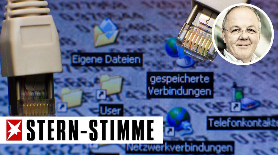 """Thomas Ammann: """"Bits & Pieces"""": Vorratsdatenspeicherung - es gilt das gebrochene Wort"""
