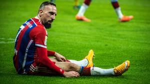 Bayern-Star Franck Ribéry kann seit mehr als drei Monaten nicht trainieren