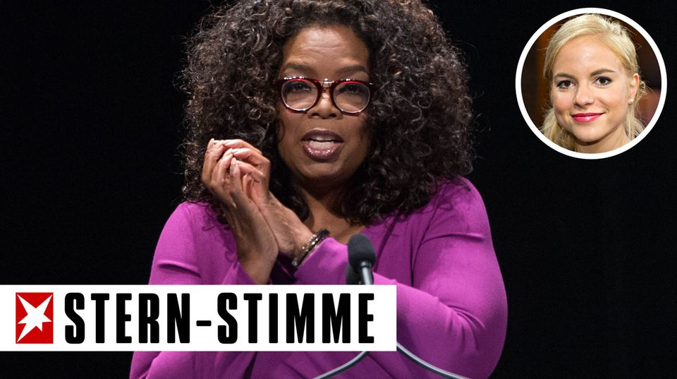 Julia Engelmann nimmt sich Oprah Winfrey zum Vorbild