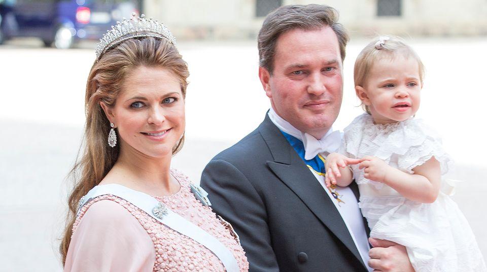 Prinzessin Madeleine mit Familie