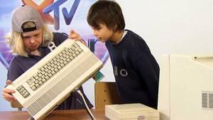 Kinder 2015 und die 80er Technik