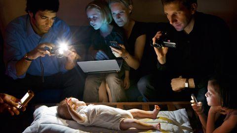 """""""Stranger in the light"""" hat Catherine Balet ihr beinahe altmeisterlich anmutendes Foto genannt."""